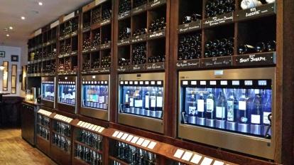 wine rooms view